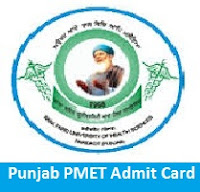 Punjab PMET Admit Card