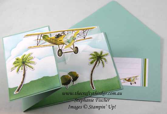 #thecraftythinker #stampinup #lookingup #SDBH #cardmaking #cardkit #funfold #zfold , Looking Up, Z-Fold, Fun Fold, Card Kit, SDBH, Stampin' Up Demonstrator, Stephanie Fischer, Sydney NSW
