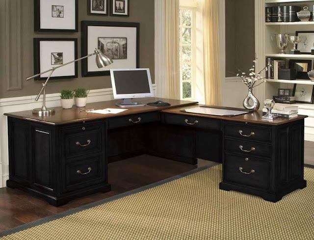 best buy black home office furniture corner desk for sale cheap