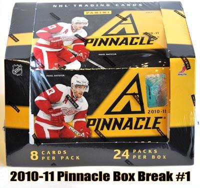 2010-11 Pinnacle Box Break #1