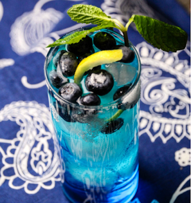 Bangin' Blueberry Lemonade! #drink