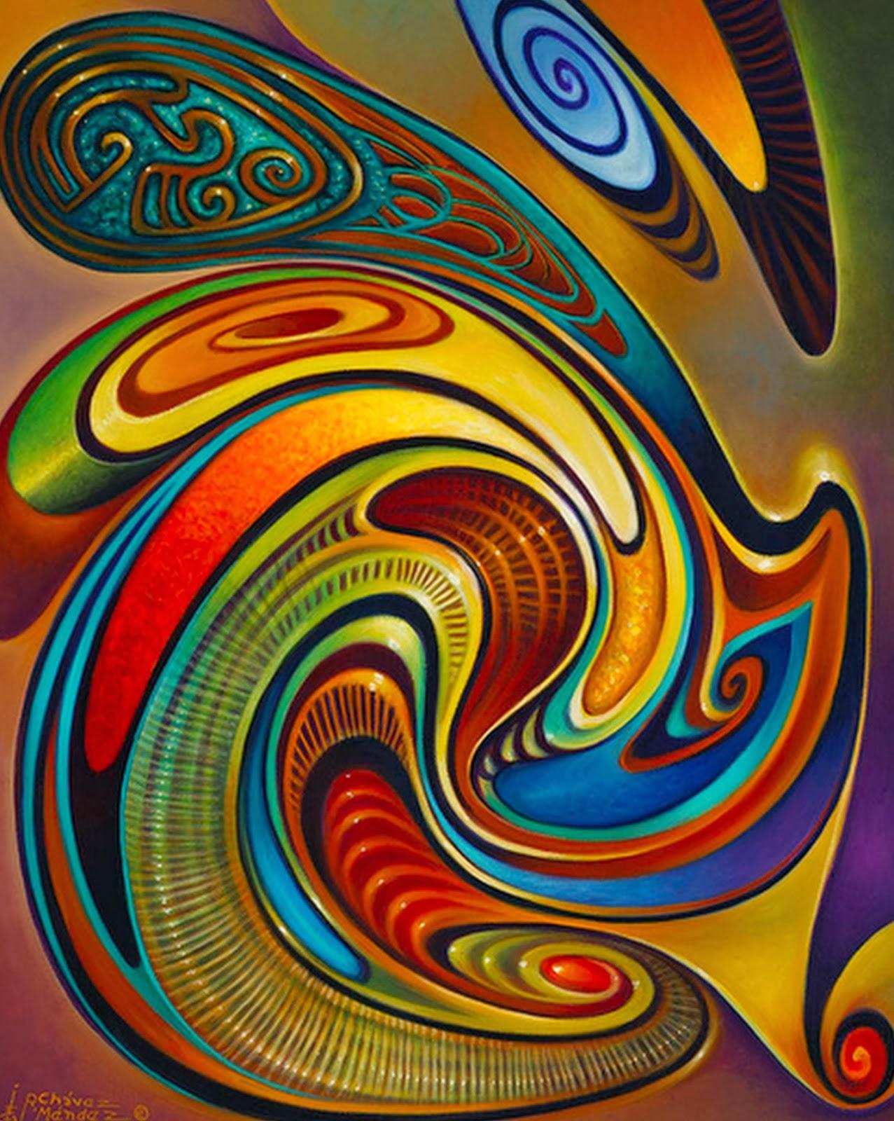 Pinturas cuadros lienzos cuadros abstractos modernos for Imagenes de cuadros abstractos faciles
