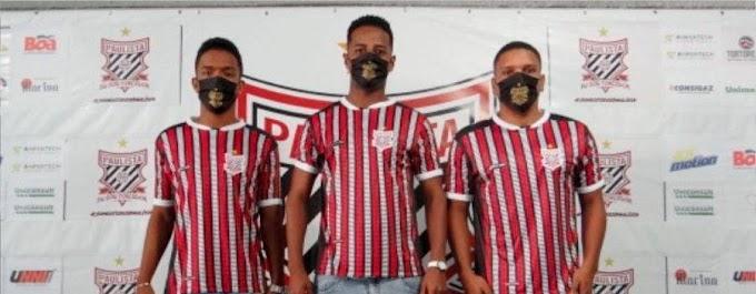 Paulista anuncia nas redes sociais a contratação de três novos jogadores