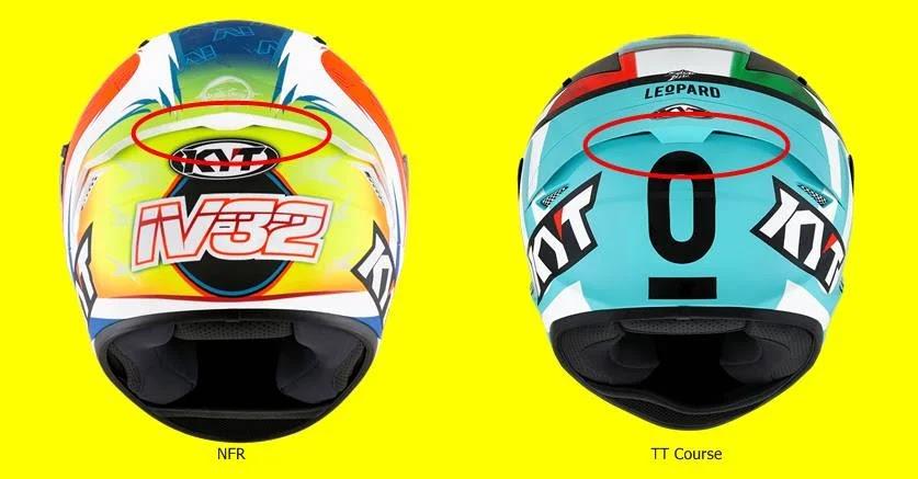 Tampak model NFR dan TT Course dari belakang