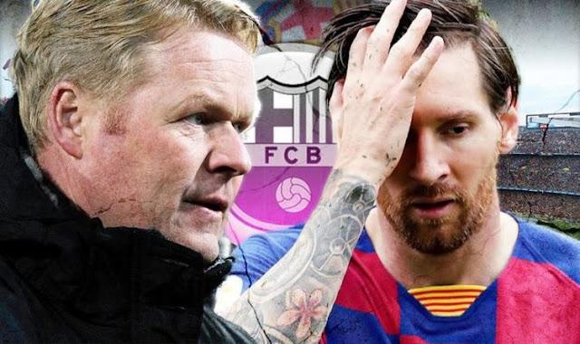 Diễn đàn rao vặt: Messi kết thúc cuộc chiến Barca, tuyên bố rút ruột gan Hlv-koeman-messi