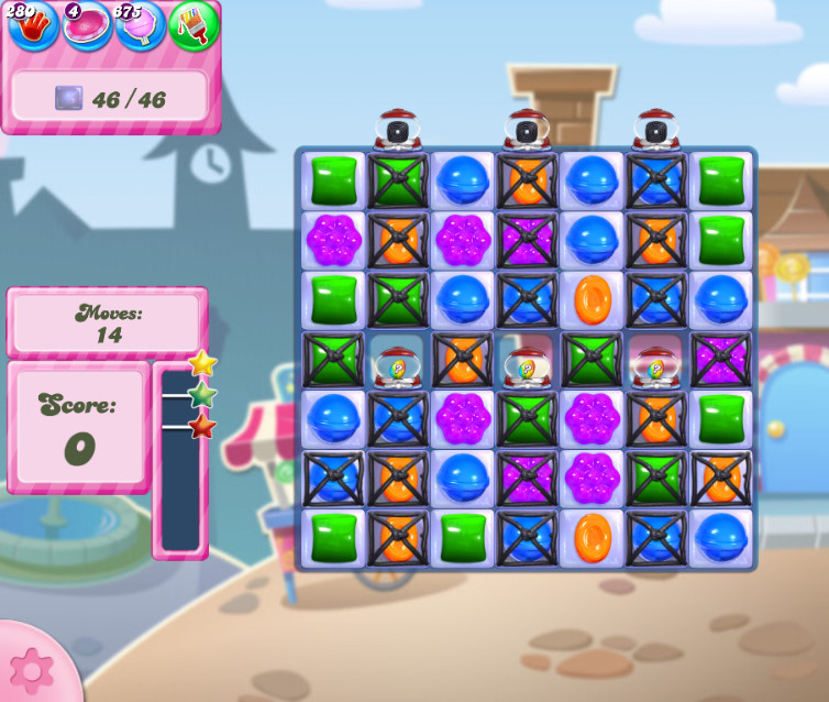 Candy Crush Saga level 2726