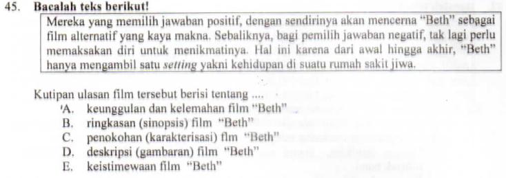 Teks Ulasan Film Zuhri Indonesia