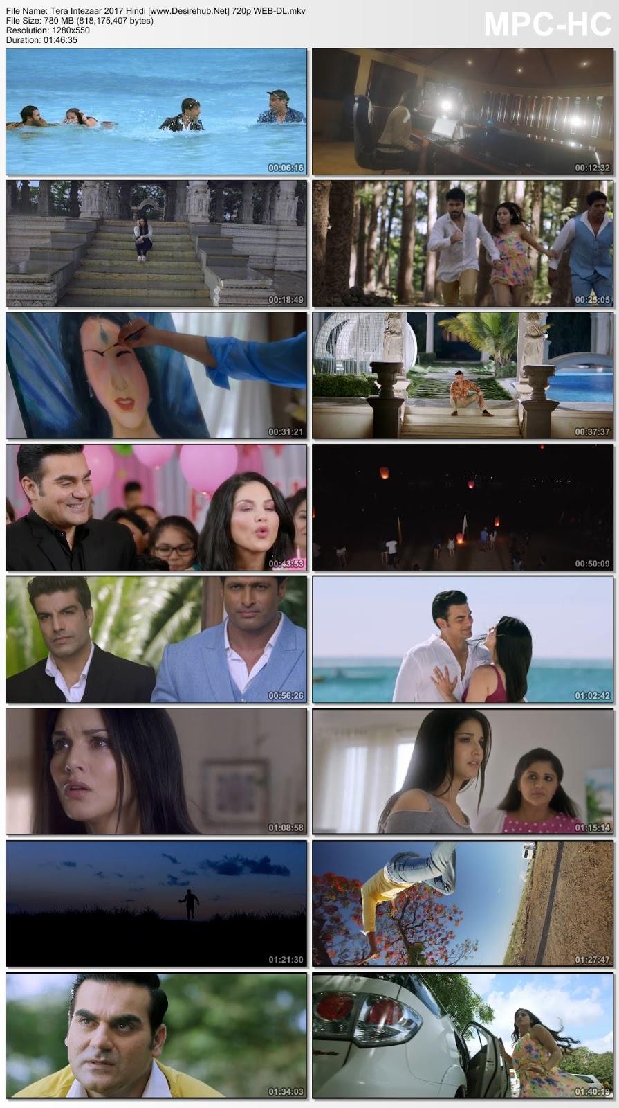 Tera Intezaar 2017 Hindi 720p WEB-DL 750MB Desirehub
