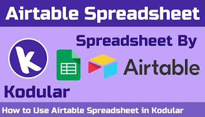 Connect Airtable and your kodular Project [2019 Method] 1