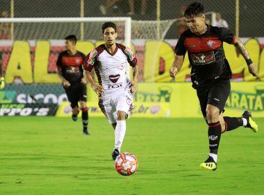 Vitória e Jacuipense empatam no Barradão pelo Campeonato Baiano ... 39c0678b49cb8