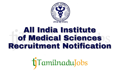 AIIMS Recruitment notification of 2018