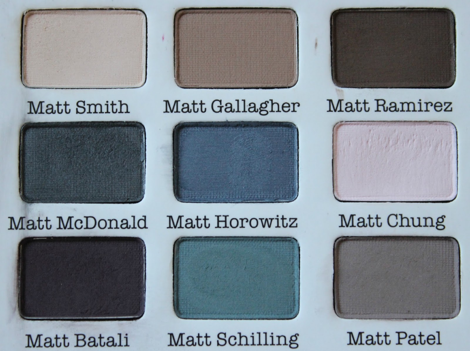 A picture of theBalm Meet Matt(e)
