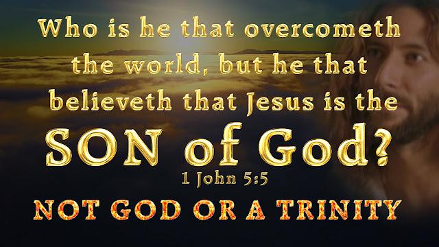 1 John 5:5.