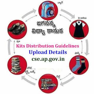 JVK - Jagananna Vidya Kanuka Kits 2021- 2022 Distribution Guidelines