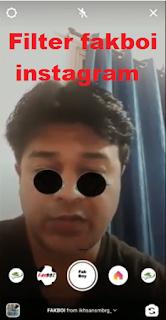 Filter fakboi instagram, cara mendapatkan filter fakboi instagram