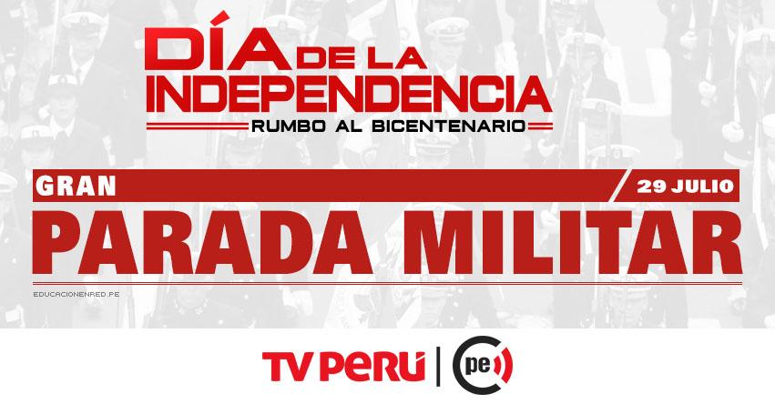 EN VIVO: Parada Militar Av. Brasil (29 Julio 2017) TV PERÚ HD - www.tvperu.gob.pe