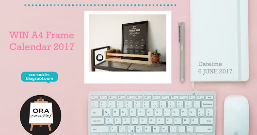 Win Calendar 2017 Frame in Blogger Contest Giveaway