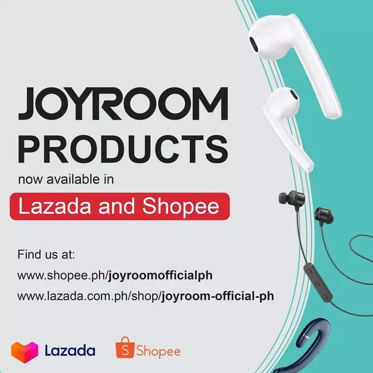 Joyroom Opens Official Online Stores on Lazada, Shopee