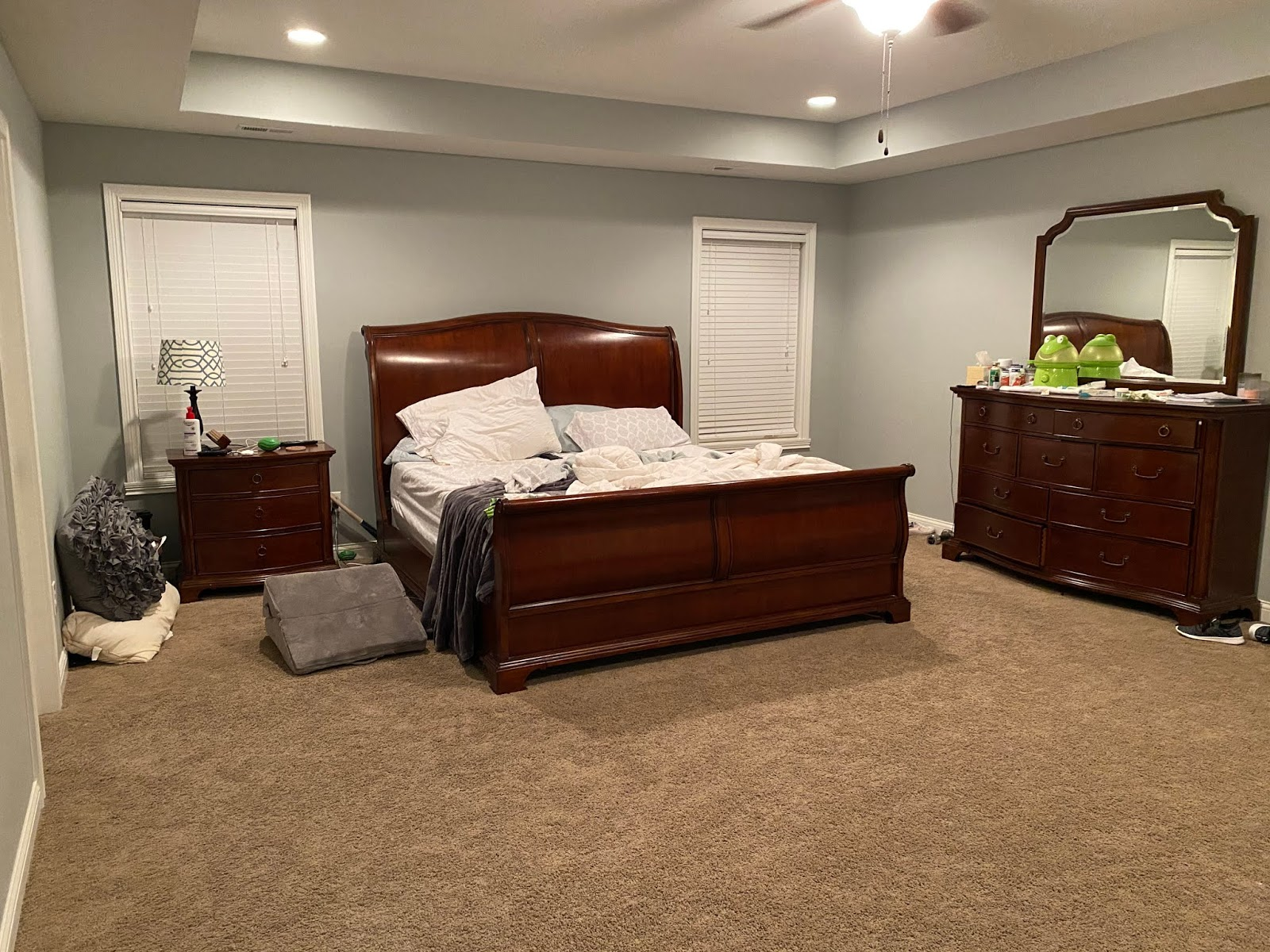 Jen Master Bedroom Vanity Dresser View