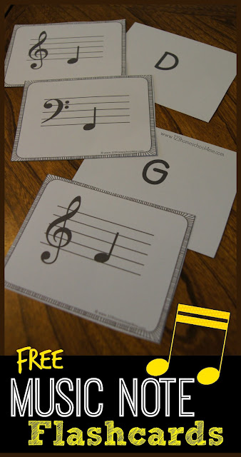 photograph regarding Piano Flash Cards Printable identify Absolutely free Tunes Take note Flashcards 123 Homeschool 4 Me