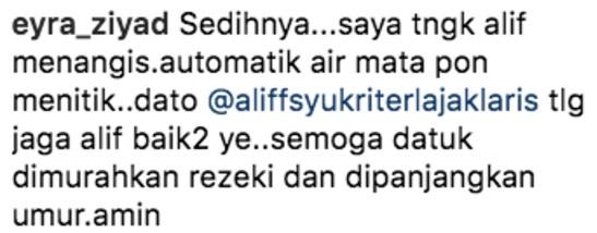 Ramai Bergenang Air Mata Melihat Dato' Aliff Syukri Dengan Anak Angkatnya