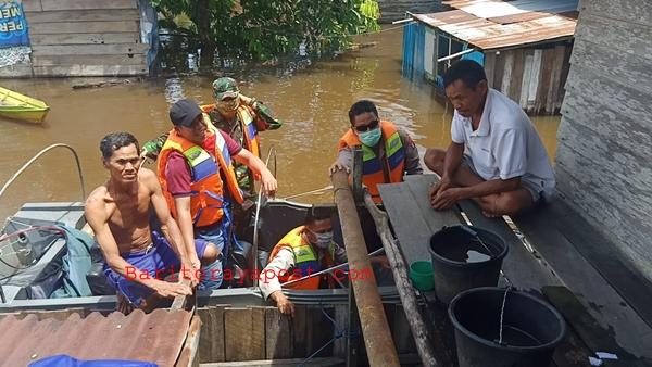 Polsek Montallat Antisipasi Bencana Banjir