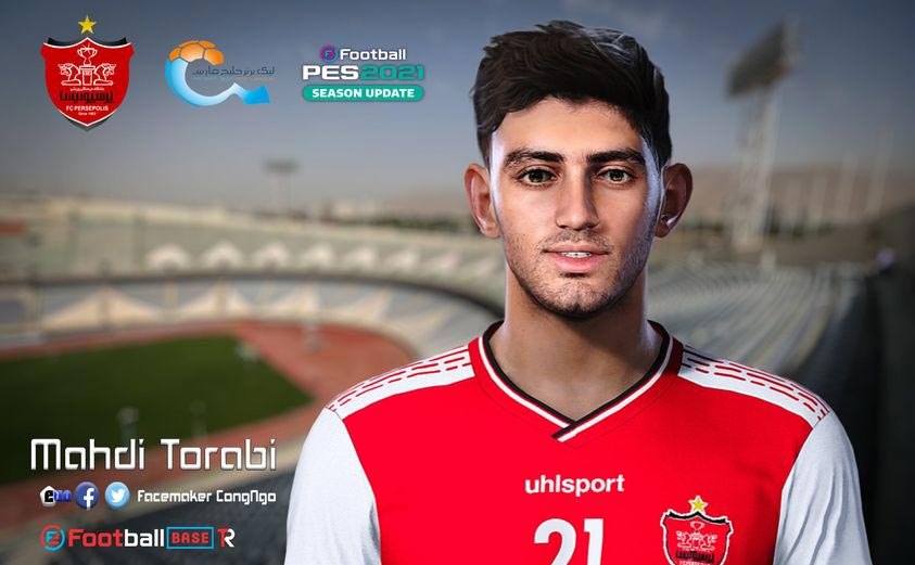 Mehdi Torabi Face For eFootball PES 2021