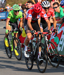 Cycling Country Bike Tours in Potes at the La Vuelta Meta
