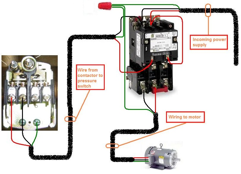 contactor wire diagram wiring diagram for contactor the wiring diagram wiring diagram contactor nilza wiring diagram