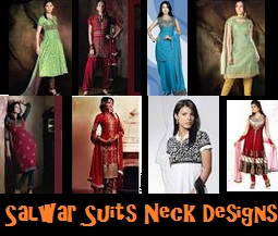 salwar suits neck designs