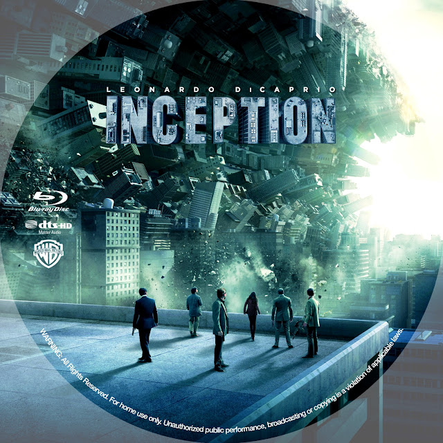 Inception Bluray Label