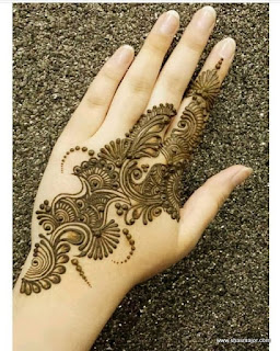 latest simple mehndi designs for hands 2015 images