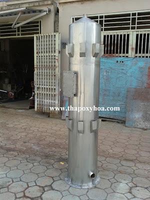 Tháp cao tải oxy hóa nước