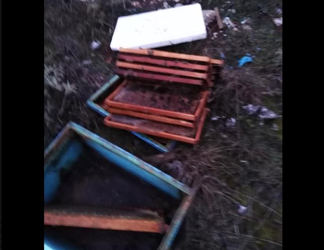 Καταστροφές μελισσιών στα Ιωάννινα...Νέος μανιακός;