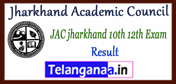 Jharkhand Academic Council 10th 12th Results 2018