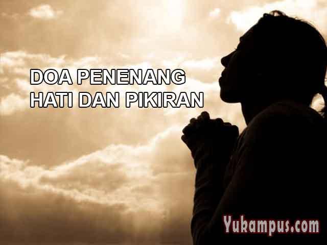 Contoh Soal Dan Materi Pelajaran 8 Doa Penenang Hati Jiwa