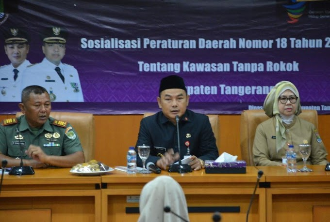 Pemkab Tangerang  Pertegas Kawasan Tanpa Rokok