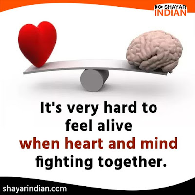 Sad Status on Heart and Mind