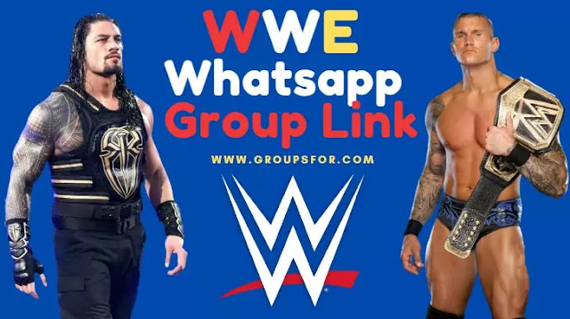 WWE Whatsapp Group Link Join List in 2020