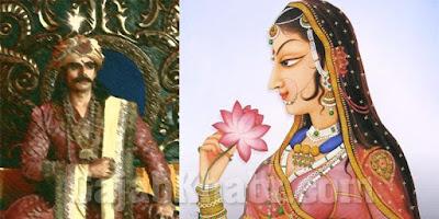 Rani Padmini and Rawal Ratan singh