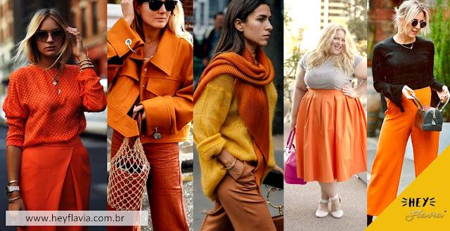 looks laranja
