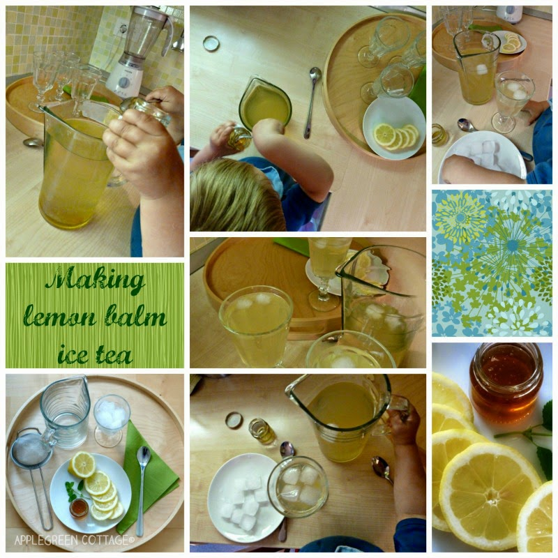 How to make lemon balm tea with honey
