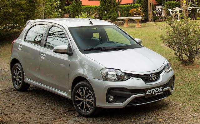 Toyota Etios 2017 Platinum Automático