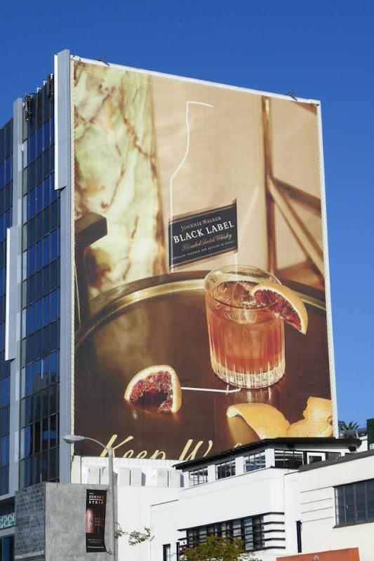Johnnie Walker Black Label 2019 billboard