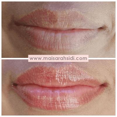 lip balm bertukar warna