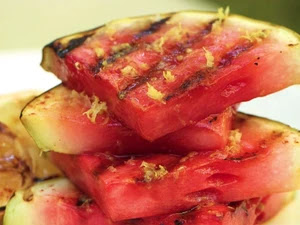 How to Make Sweet Grilled Watermelon