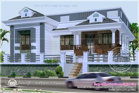 Budget villa single floor