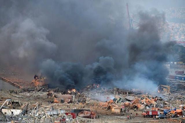 Passa de 100 o número de mortos em explosão em Beirute, no Líbano