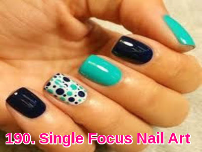 Single Focus Nail Art