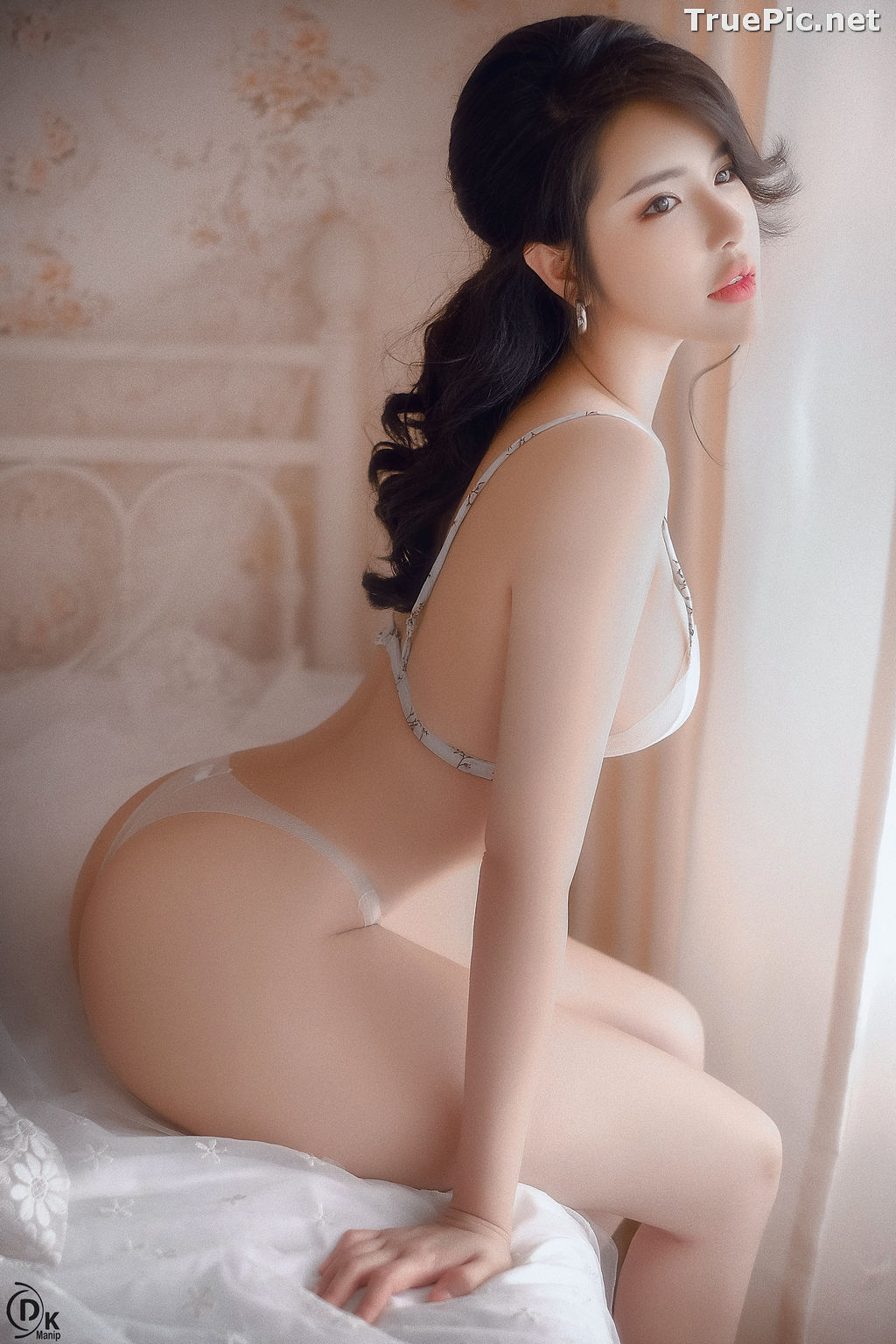 Image Vietnamese Model - Beautiful Girl in Sexy Transparent White Lingerie - TruePic.net - Picture-8